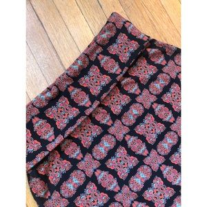 Lularoe Psychedelic Print Stretchy Maxi Skirt